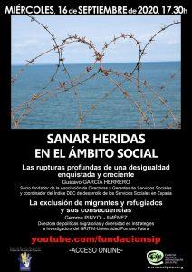 Sanar heridas en el ámbito social @ youtube.com/fundacionsip | Zaragoza | Aragón | España