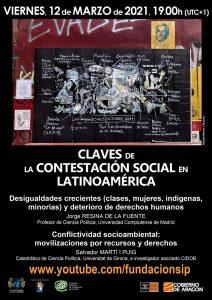 Claves de la contestación social en Latinoamérica