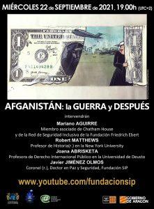 Afganistán: la guerra y después