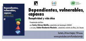 Libro Xabier Etxeberria - Dependientes, vulnerables, capaces