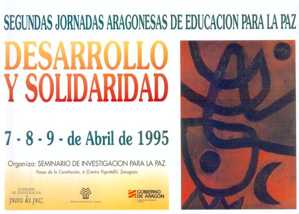 Desarrollo y Solidaridad – II Jornadas Aragonesas de Educación para la Paz