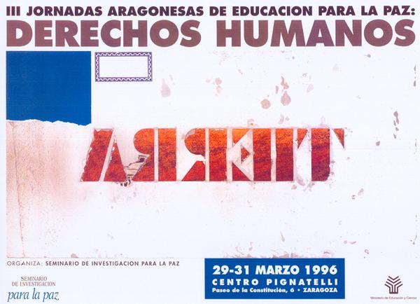 Educar para los Derechos Humanos – III Jornadas Aragonesas de Educación para la Paz