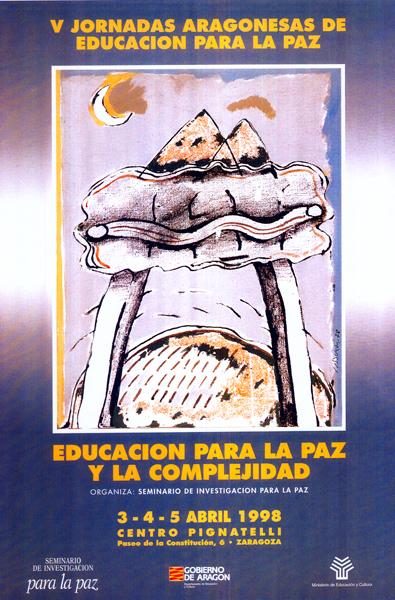 Educar para la complejidad – V Jornadas Aragonesas de Educación para la Paz