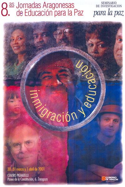 Inmigración y educación – VIII Jornadas Aragonesas de Educación para la Paz